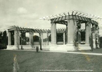 Pergola as seen in The Original Busch Gardens by Michael Logan