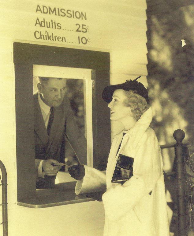 The Original Busch Gardens-First Ticket Sale